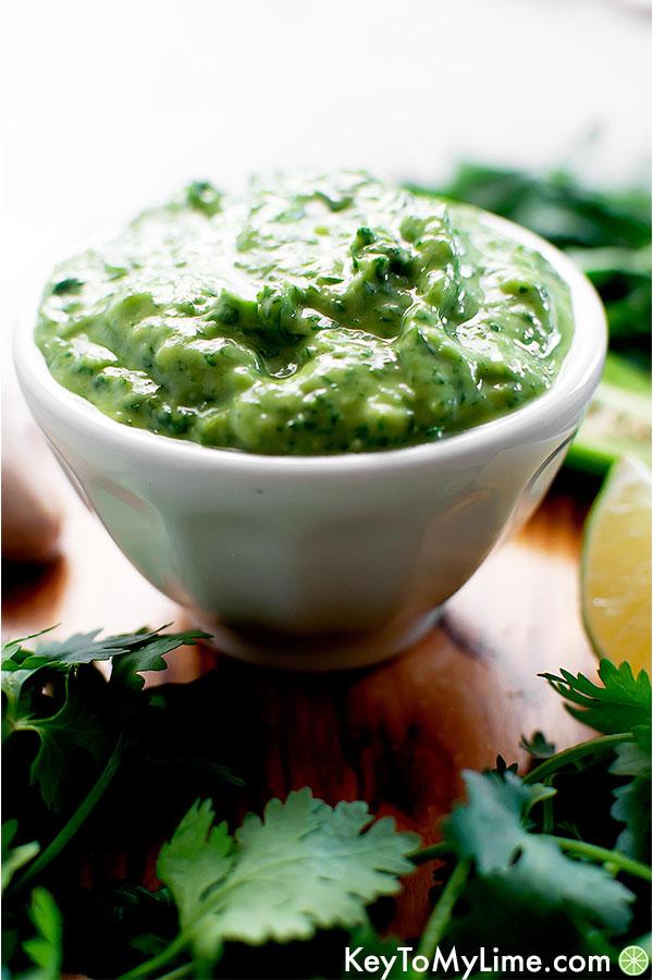 chipotle sour cream chipotle lime cream sauce  key to
